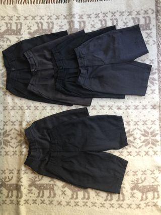 Pantalones cortos grises de Uniforme Sek.