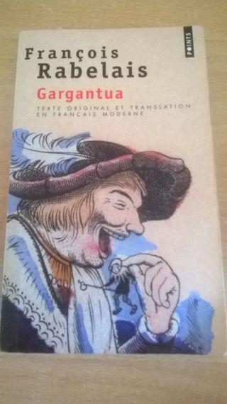 Libro en francés Gargantua