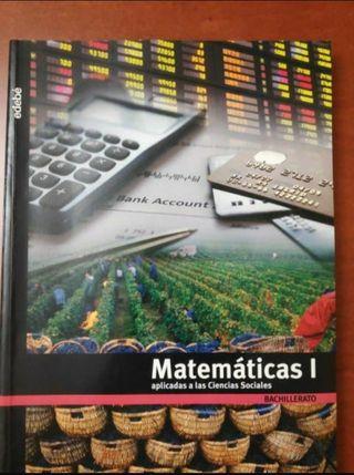 Libro 1° Bachiller Matemáticas Edebé