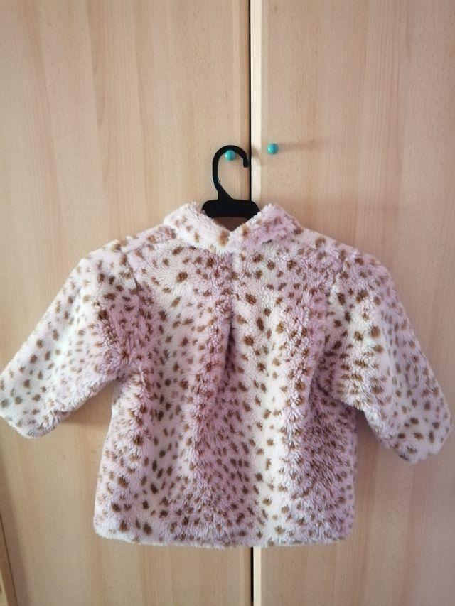 abrigo niña, marca (micro baby)