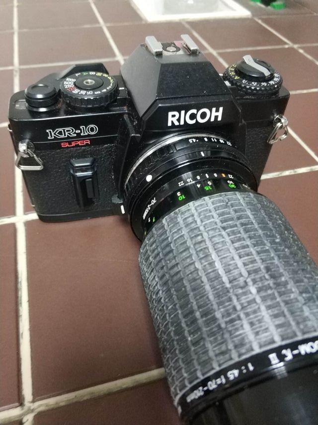 camara reflex ricoh analogica