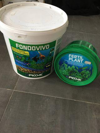 Sustrato para plantas acuario NUEVO x cierre tiend