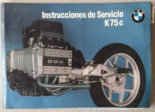 Manual de usuario de BMW K 75