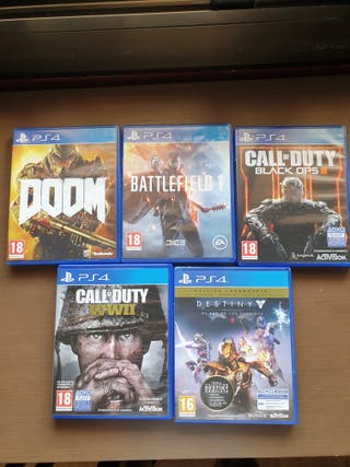 varios juegos ps4