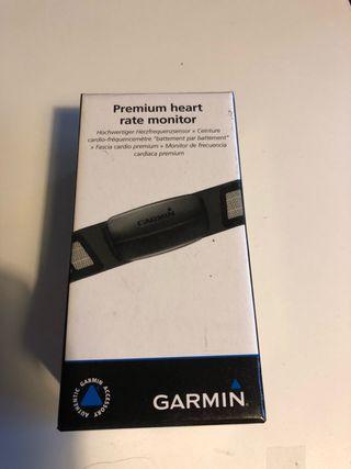 Cinta pulsometro garmin premium