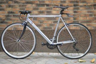 Bicicleta cuadro carretera componentes a medida