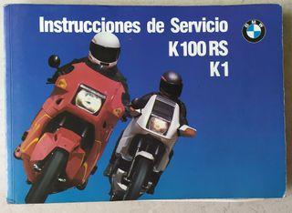 Manual de usuario BMW K100RS
