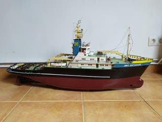 Maqueta de barco holandés propia