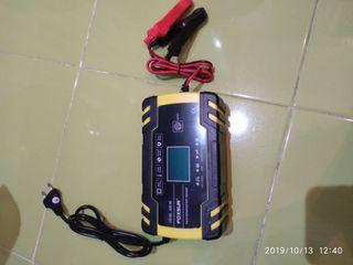 Cargador de batería de coche