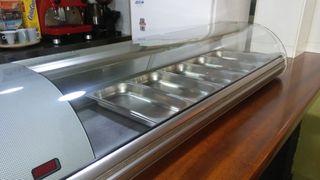 Vitrina refrigeradora de tapas