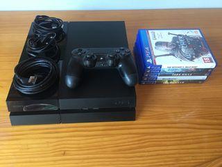 Playstation 4 1 TB + 5 juegos