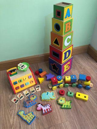 Juguetes de madera para niños/bebés