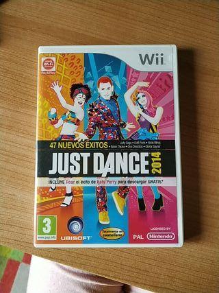 Juegos Wii Just Dance 2014 y Justo Dance 4