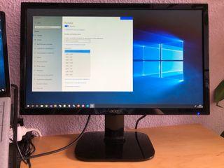 Monitor Acer 21,5 pulgadas HDMI y Full HD