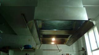 campana extractora central restaurant