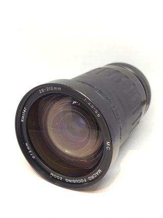 Sigma 28-210 para Canon FD
