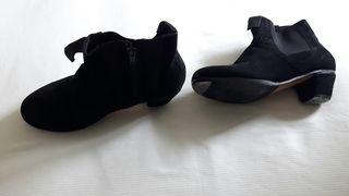 botines de flamenco