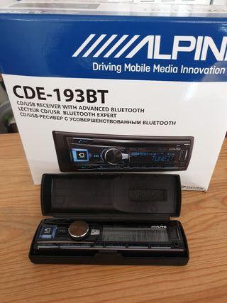 Radio coche Alpine CDE-193BT
