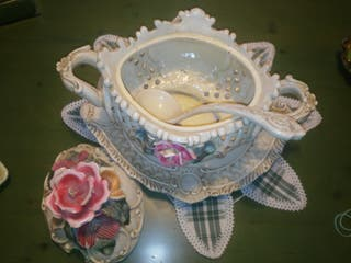 Sopera de cerámica