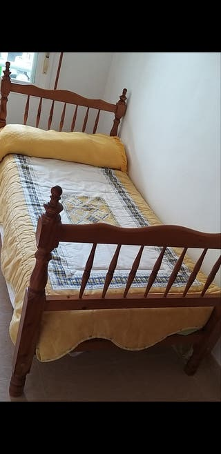 2 camas de madera