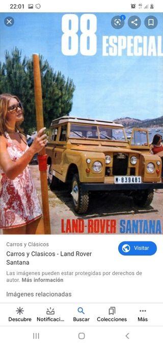 Land Rover santana especial. 1971