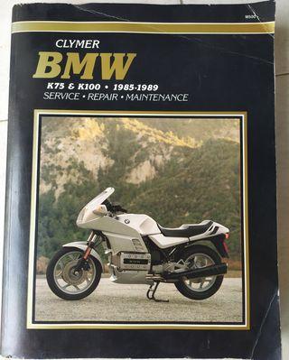 Libro de taller de BMW K 75 Y K 100