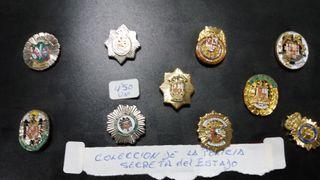 Colección PINS POLICIA SECRETA