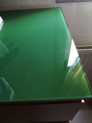 Sinfonier y cristal verde