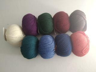 Ovillo lana marca Puntarena