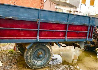 Remolque agrícola de 4500kilos hidraulico