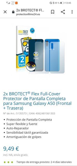 Protectores Samsung A50