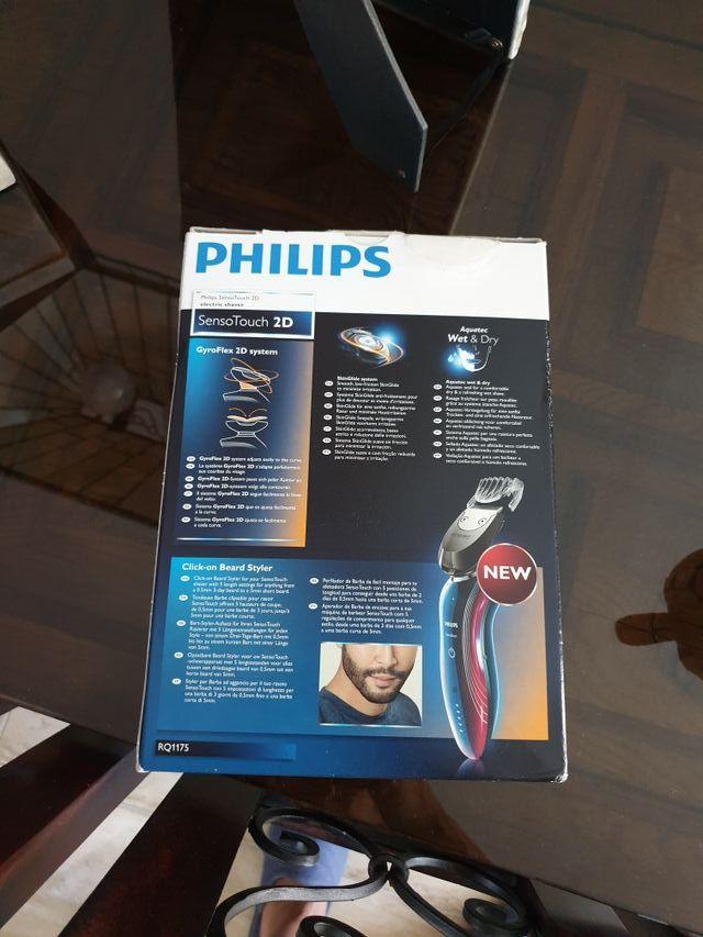 máquina de afeitar philips sensoTouch RQ 1175