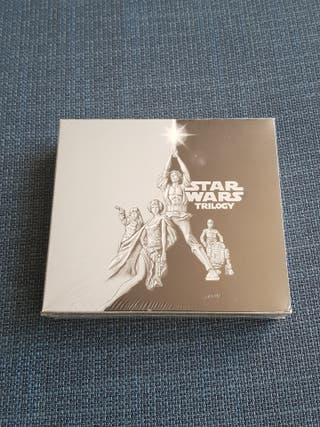 Bandas Sonoras Star Wars episodios IV, V, VI en CD