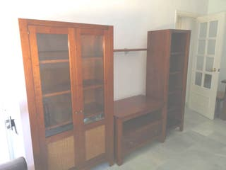 Mueble de salón madera de Teka