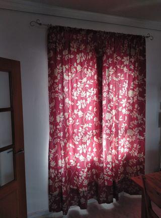 cortinas de ventana salón