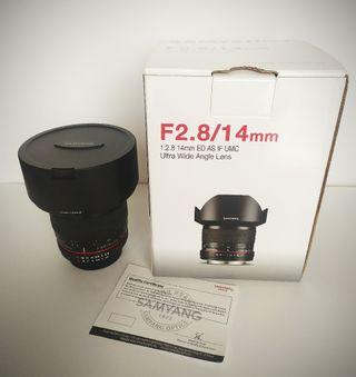 Samyang F2.8/14mm ED AS IF UMC