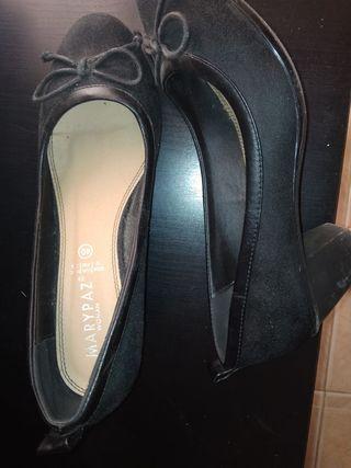 zapatos tacón N 40
