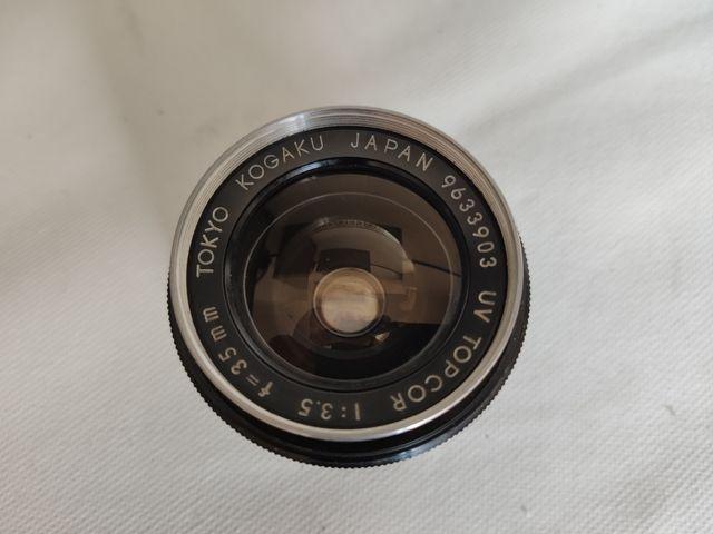 Tokio Kogaku Topcor 35mm 3.5 Objetivo