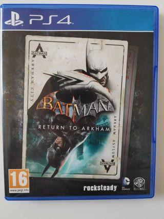 [PS4]Batman Return to Arkham