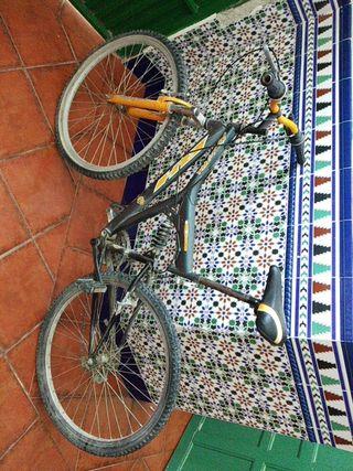 3 bicicletas de montaña