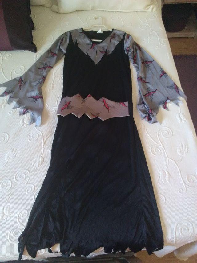 Disfraz murciélago niño /niña con capa negra