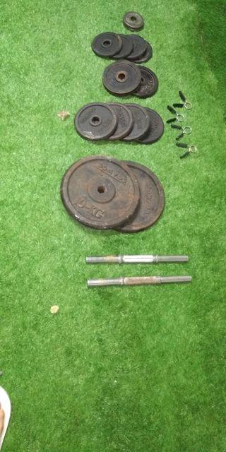 pesas y barras