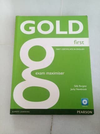 Gold first book Pearson