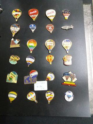 Colección PINS GLOBOS