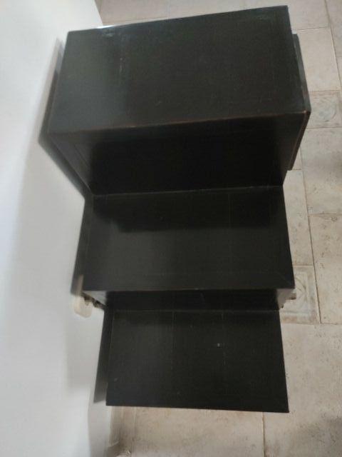 mueble oriental en escalera
