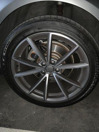 "Llantas RS4 19"" Audi y neumáticos Brigestone"