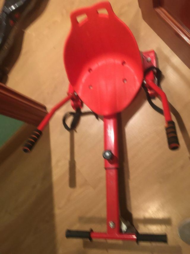 Hoverboard hummer+ silla