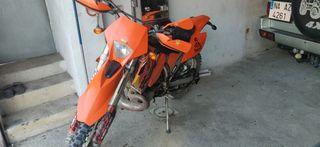KTM exc 250cc años 2003