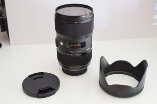 Sigma 18-35mm f/1.8 ART para NIKON