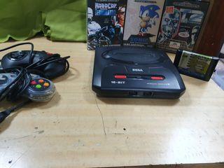 Sega Mega Drive II 16 bits